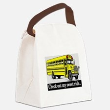 CHECK OUT MY SWEET RIDE Canvas Lunch Bag