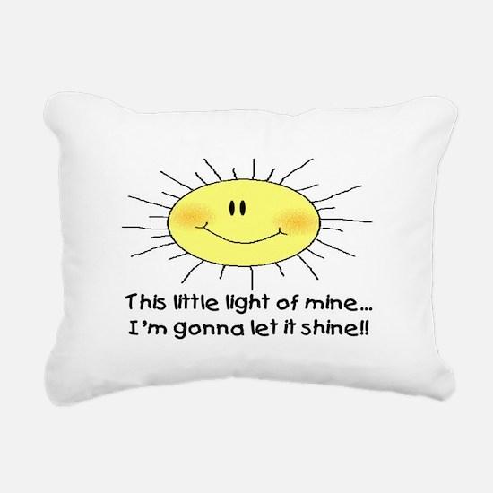 LIGHT OF MINE Rectangular Canvas Pillow