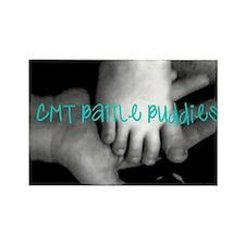 CMT Battle Buddies Rectangle Magnet