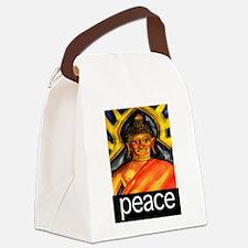 PEACE (Buddha) Canvas Lunch Bag