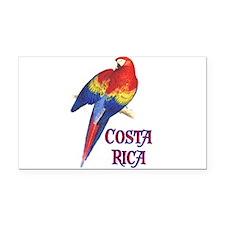 COSTA RICA II Rectangle Car Magnet