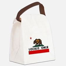 LOCALS ONLY Canvas Lunch Bag