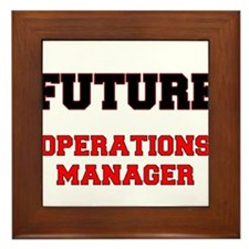 Future Operations Manager Framed Tile