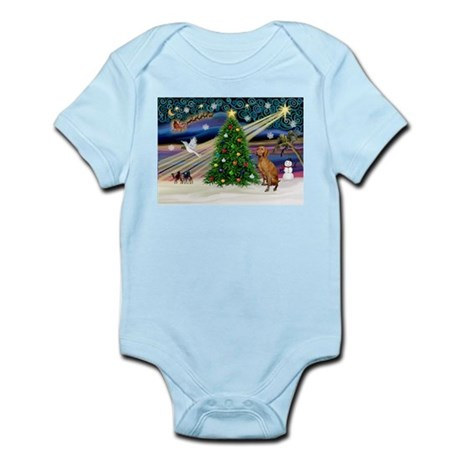 Xmas Magic & Vizsla Infant Bodysuit