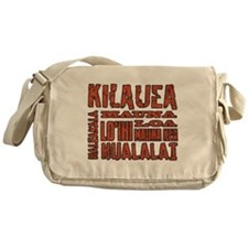 Hawaii's Volcanoes Messenger Bag