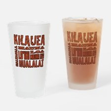 Hawaii's Volcanoes Drinking Glass