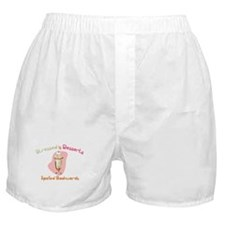 Stressed is Desserts Backward Boxer Shorts