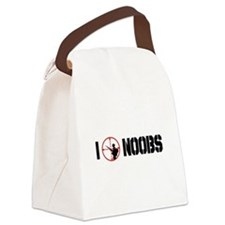 I noobs.png Canvas Lunch Bag
