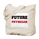 Future physician assistant Canvas Bags