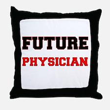 Future Physician Throw Pillow