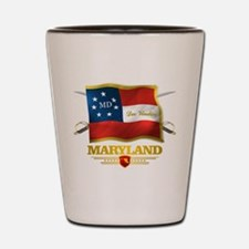 Maryland -Deo Vindice Shot Glass