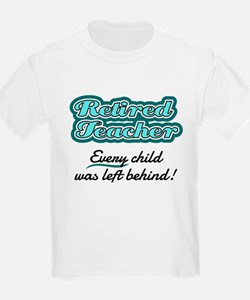 Retired Teacher - Every child was left behind! T-S