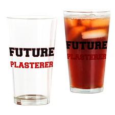 Future Plasterer Drinking Glass