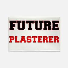Future Plasterer Rectangle Magnet