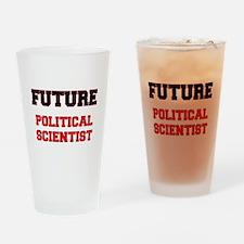 Future Political Scientist Drinking Glass