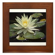 Funny Bloom Framed Tile