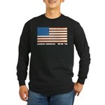 Jewish Flag Long Sleeve Dark T-Shirt