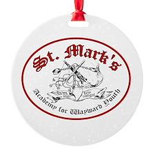St. Mark's Academy Ornament