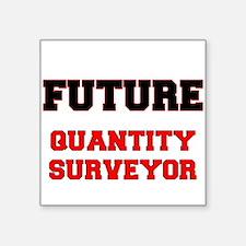 Future Quantity Surveyor Sticker