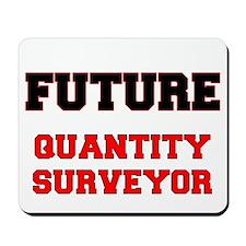 Future Quantity Surveyor Mousepad