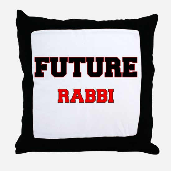 Future Rabbi Throw Pillow
