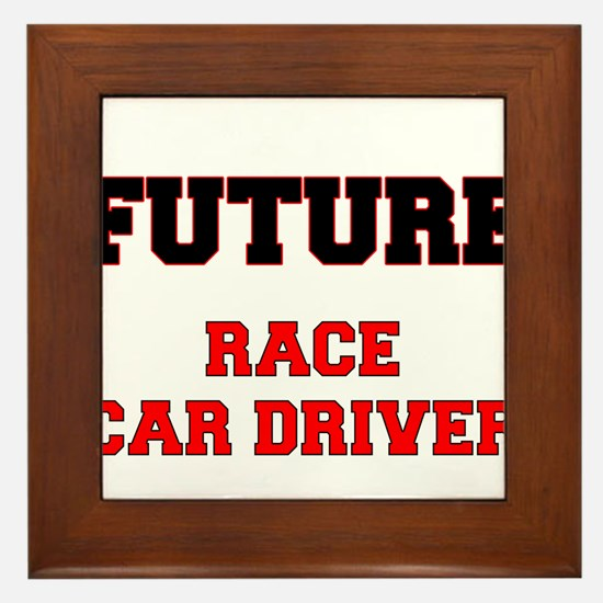 Future Race Car Driver Framed Tile