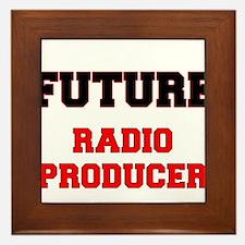 Future Radio Producer Framed Tile