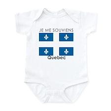 Je Me Souviens Quebec Infant Bodysuit