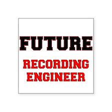 Future Recording Engineer Sticker