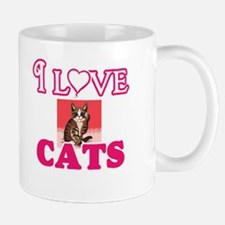 I Love Cats Mugs