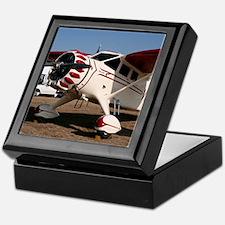 Stinson Aircraft (red & white) Keepsake Box