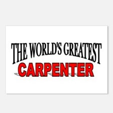 """The World's Greatest Carpenter"" Postcards (Packag"