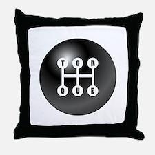 Torque Gearshift Throw Pillow