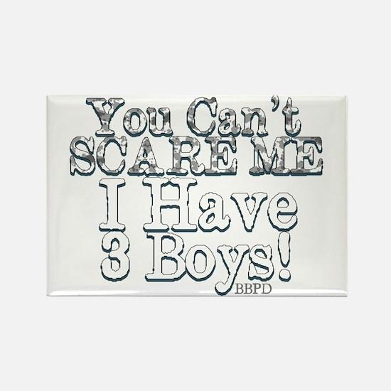 I have 3 boys Rectangle Magnet