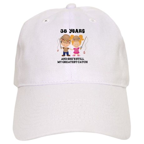 38th Anniversary Mens Fishing Cap