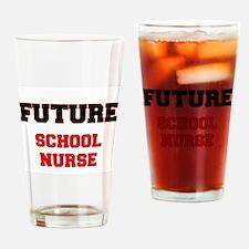 Future School Nurse Drinking Glass