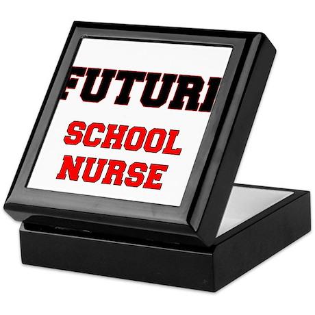Future School Nurse Keepsake Box