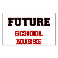 Future School Nurse Decal