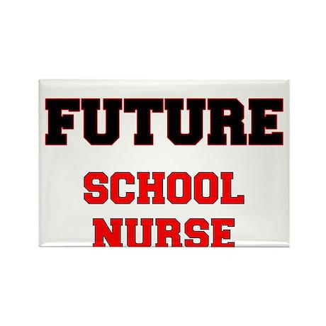 Future School Nurse Rectangle Magnet