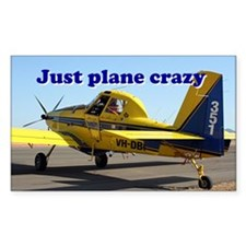 Just plane crazy: Air Tractor (blue & yellow) Stic