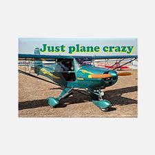 Just Plane Crazy: Gazelle Aircraft Rectangle Magne