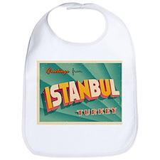 Vintage Touristic Greeting Card - Istanbul, - Bib