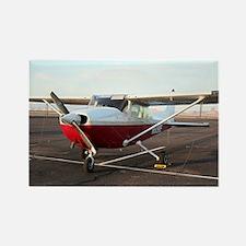 Aircraft at Page, Arizona, USA 4 Rectangle Magnet