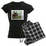 OUR FIRST TEACHER Women's Dark Pajamas