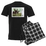 OUR FIRST TEACHER Men's Dark Pajamas