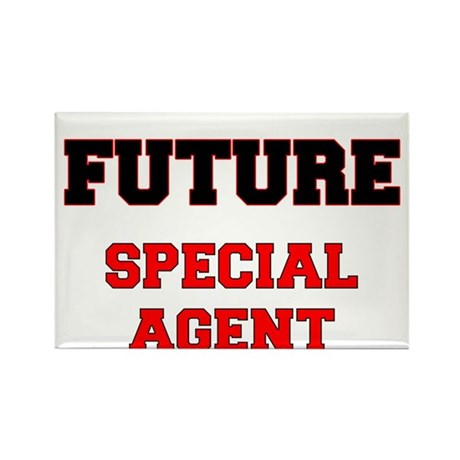 Future Special Agent Rectangle Magnet