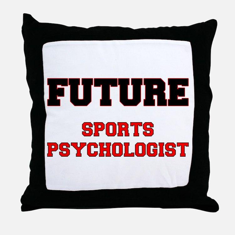 Future Sports Psychologist Throw Pillow