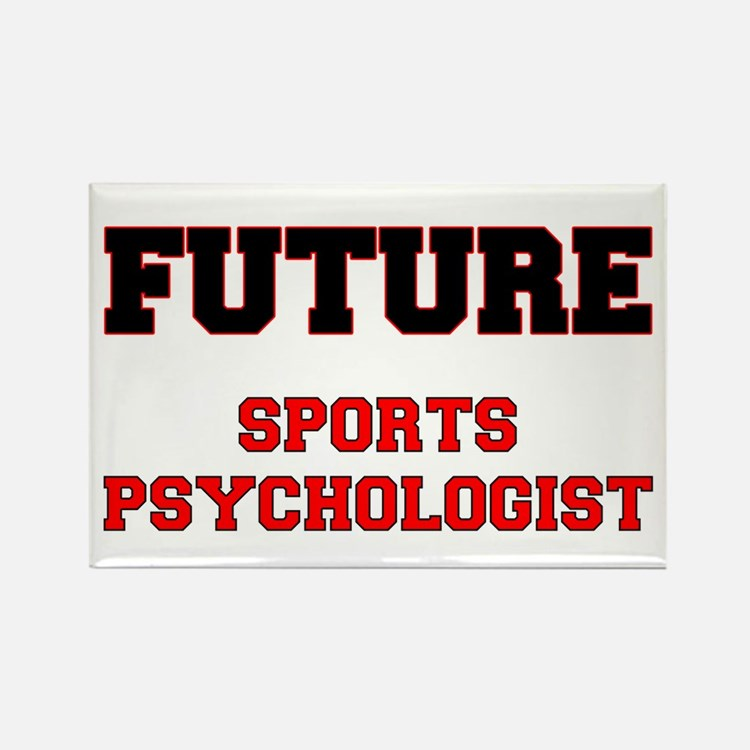 Future Sports Psychologist Rectangle Magnet