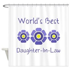 World's Best Daughter-In-Law Shower Curtain