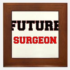 Future Surgeon Framed Tile